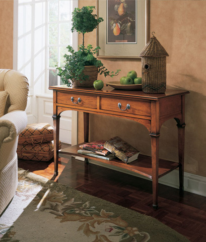 Harden Furniture - Lyon Two Drawer Console - 1821