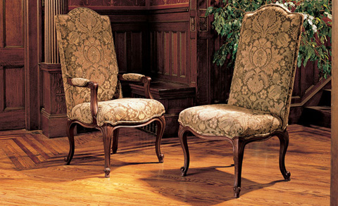 Harden Furniture - Traditional Upholstered Side Chair - 3483-000