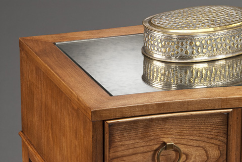 Harden Furniture - Antique Mirror Top Console - 517-200