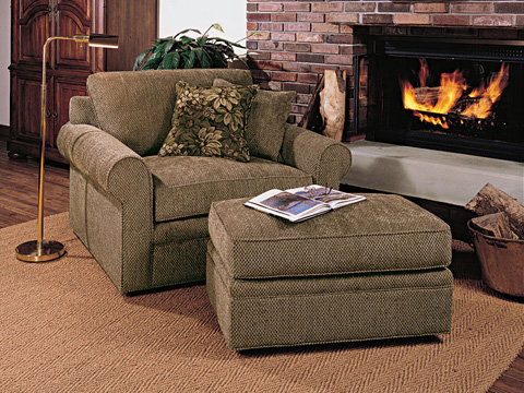 Harden Furniture - Sock Arm Chair and A Half - 6422-000