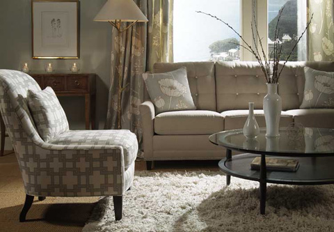 Harden Furniture - Attached Button Back Sofa - 6502-086