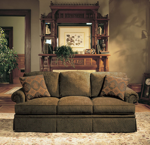Harden Furniture - Panel Arm Sleeper Sofa - 6743-085