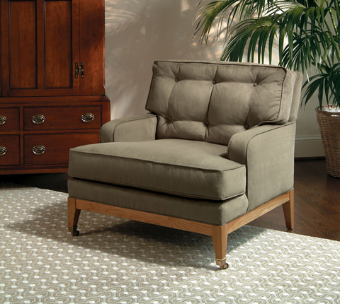 Harden Furniture - Low Track Arm Accent Chair - 7464-000