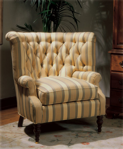 Harden Furniture - Channel Back Wing Chair - 9439-000