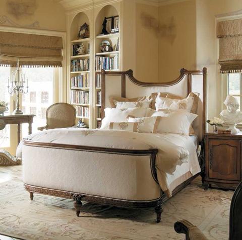 Harden Furniture - King Upholstered Bed - 1519-6/6