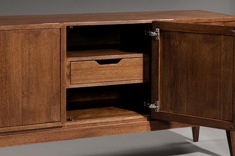 Harden Furniture - Wood Base Server - 1665-200