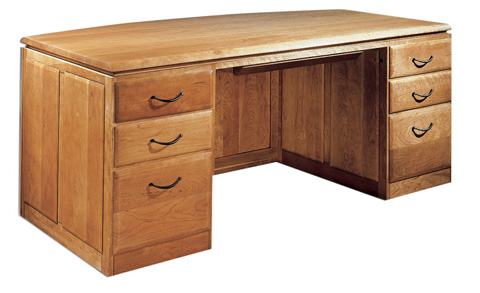 Harden Furniture - Double Pedestal Desk - 1750