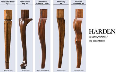 Harden Furniture - Custom Dining Table - 655-520
