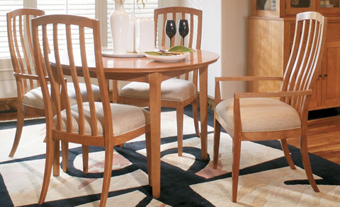 Harden Furniture - Bedford Round Dining Table - 733-2