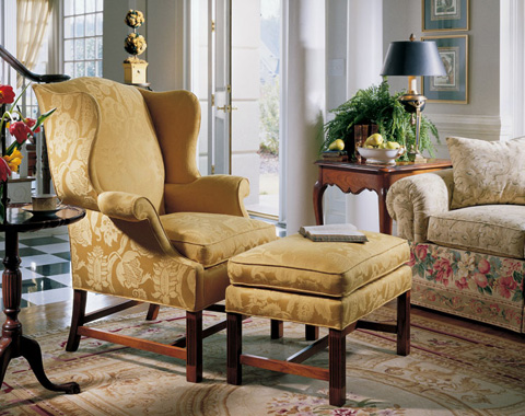 Harden Furniture - Wing Chair - 8443-000