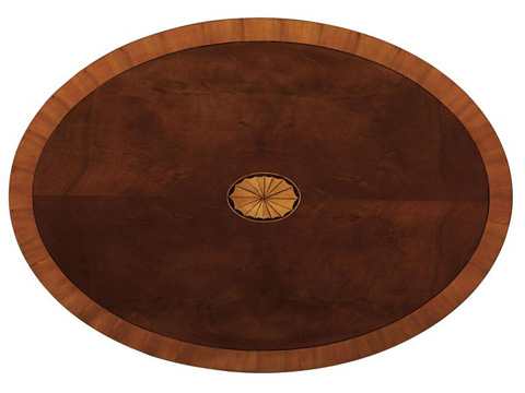 Hekman Furniture - Copley Place Oval Coffee Table - 2-2500
