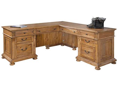 Hekman Furniture - Office Express L-Desk - 7-9307