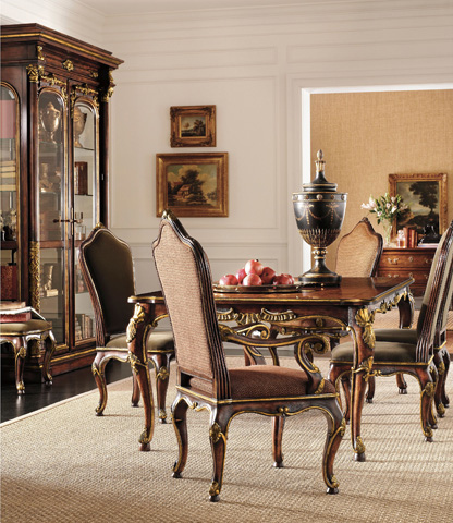 Henredon - Carved Rectangular Dining Table - 4500-20