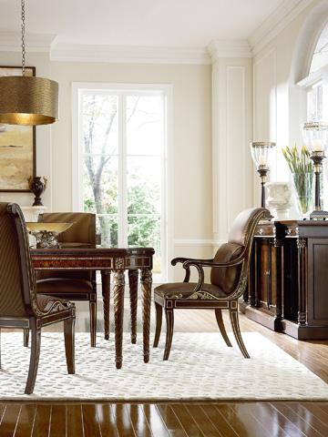 Henredon - Scroll Back Arm Chair - 2706-27