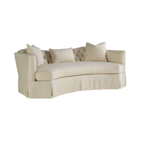 Henredon - Serpentine Short Sofa with Tufted Back - H1301-B