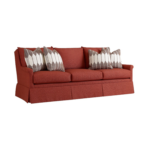 Image of Refinements Skirted Sofa