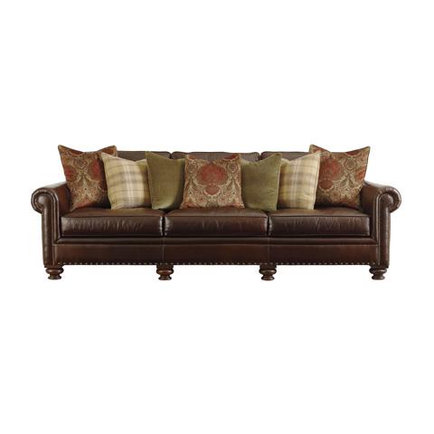 Henredon - Rolled Arm Sofa with Nailhead Trim - IL8813-C