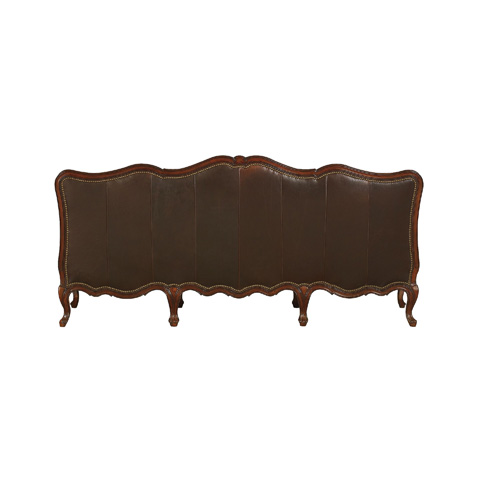 Henredon - Tufted Sofa with Carved Frame - IL8835-C