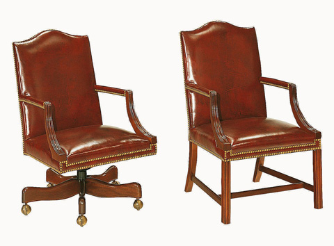 Hickory Chair - Small Martha Washington Chair - 1058-11