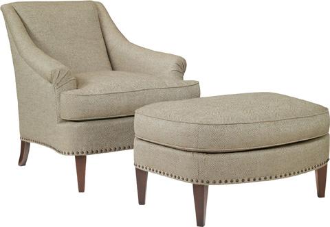 Hickory Chair - Marler Ottoman - 108-29