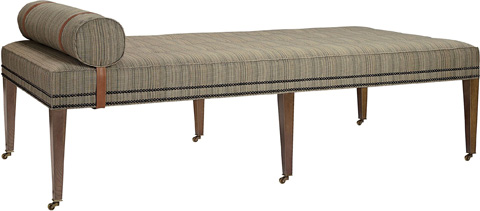 Hickory Chair - Bexley Cocktail Ottoman with Upholstered Top - 126-30