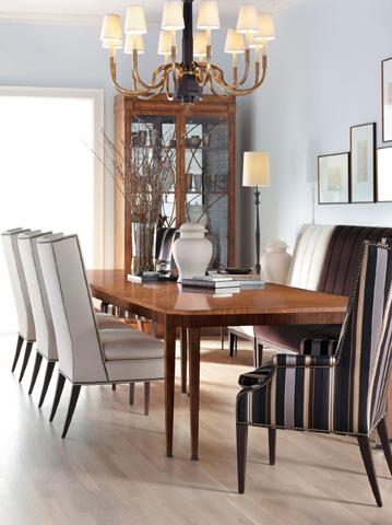 Hickory Chair - Artisan Mahogany Dining Table - 140-71