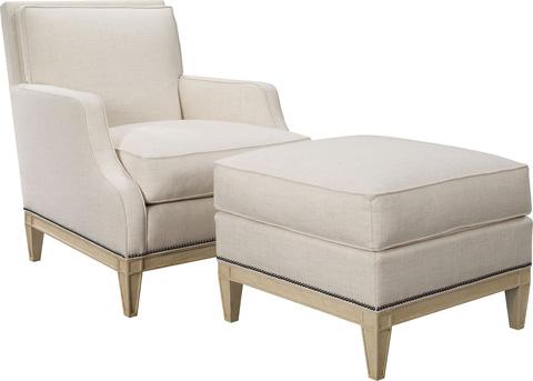 Hickory Chair - Monroe Ottoman - 1525-29