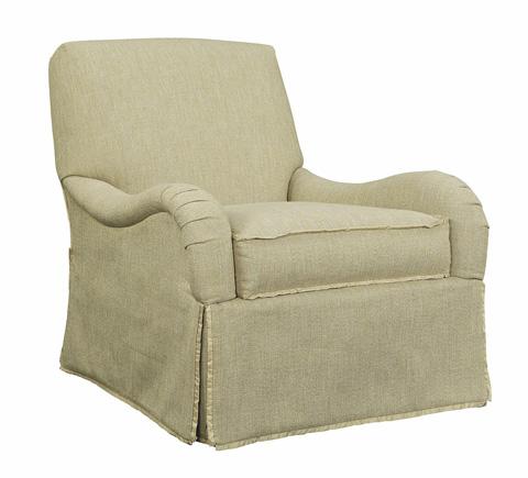 Hickory Chair - Emory Skirted Sofa - 1601-06