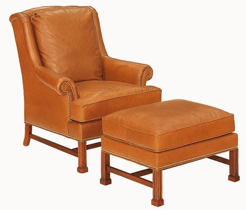 Hickory Chair - Marlborough Leg Lounge Chair - 1756-53