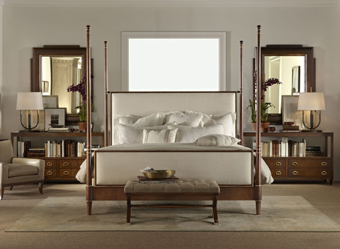 Hickory Chair - Tompkins King Upholstered Bed - 5162-16
