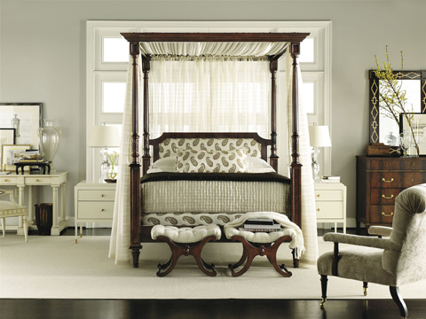 Hickory Chair - Belle King Poster Wood Bed - 5456-10