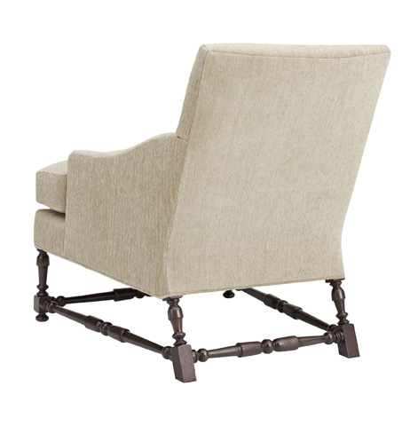 Hickory Chair - Maud Lounge Chair with Turned Stretchers - 701-24