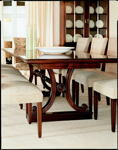 Hickory Chair - Library Dining Table - 7640-10