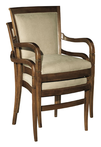 Hickory Chair - Stacking Arm Chair - 800-01