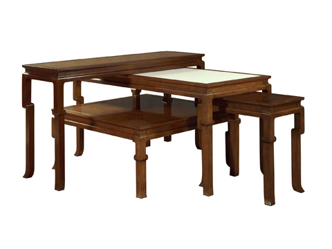 Hickory Chair - Ceylon Game Table - 9578-51