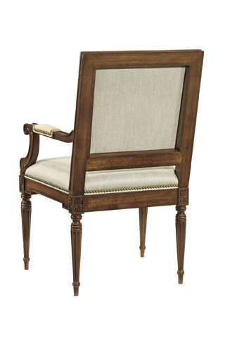 Hickory Chair - Louis XVI Square Back Arm Chair - 9751-01