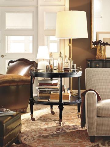 Hickory Chair - Soleil Round Mirror - 9799-10