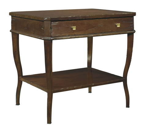 Hickory Chair - West Paces Side Table - 1582-70