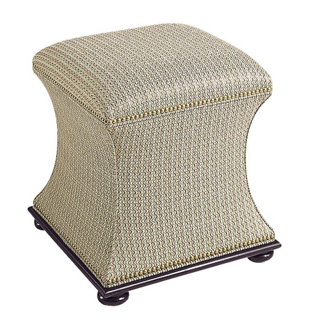 Hickory Chair - Charles Made To Measure Hassock - 329-53