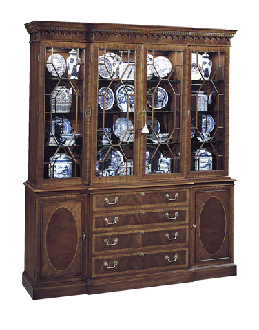 Hickory Chair - Breakfront Cabinet - 2135-70/2235-70
