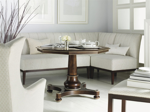 Hickory Chair - Center Hall Table - 7687-12/7687-11