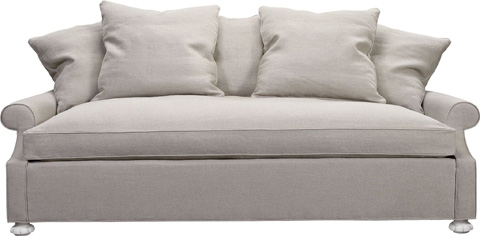 Hickory Chair - Silhouettes Serpentine Sofa - 4120