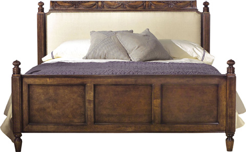 Hickory Chair - English Regency California King Wood Bed - 5664-11