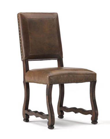 Hickory White - Leather Side Chair - 171-64