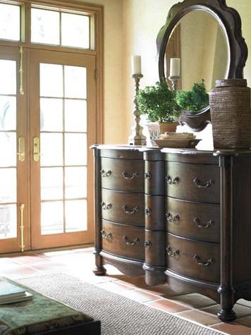 Hickory White - Bow Front Dresser - 175-32