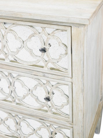Hickory White - Three Drawer Tracery Chest - 245-62