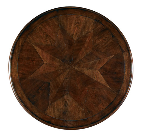 Hickory White - Round Center Table - 303-29