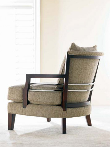Hickory White - Exposed Wood Accent Chair - 4281-01