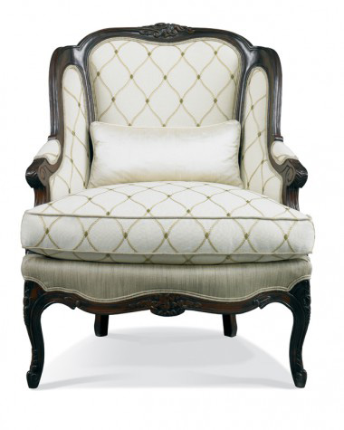 Hickory White - Wing Chair with Cushion Arms - 4665-01