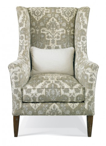 Hickory White - Upholstered Wing Chair - 4839-01